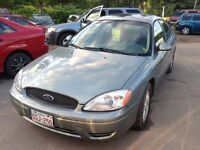 2007 Ford taurus sel 3.0 l one owner