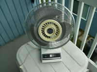 VENTILATEUR, FAN 12 po  mastercraft