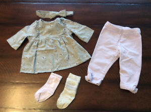Janie & Jack Baby Girl Outfit (3-6 months)