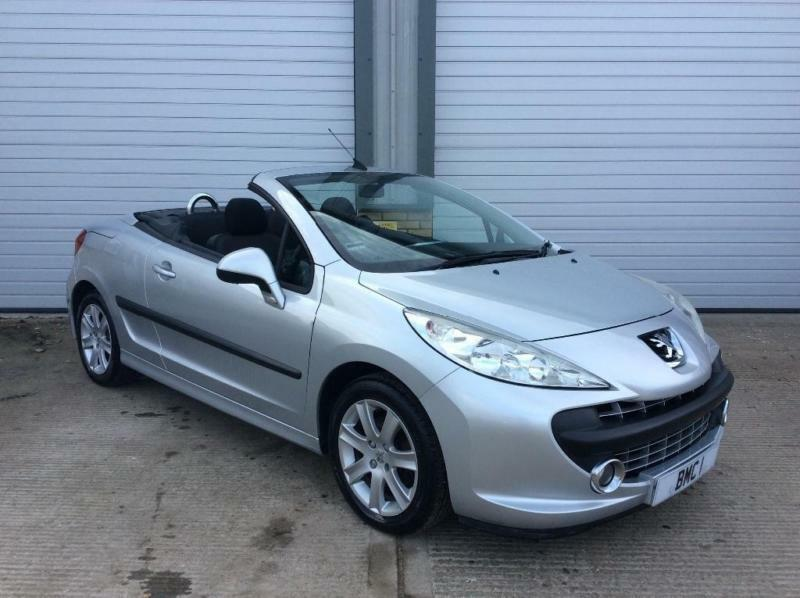 2008 peugeot 207 cc 1 6 16v sport 2dr in norwich. Black Bedroom Furniture Sets. Home Design Ideas