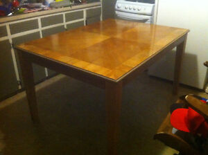 Kitchen Table, Chairs, Custom Bench Free