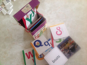 Set of toddler letter learning board books - compete