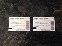 2 X LEGOLAND TICKETS FOR SALE Friday 1st September 2017