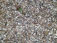 'Golden' gravel, 20mm, about 35 sq m coverage, or more