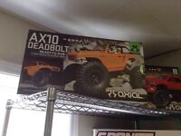 AXIAL AX10 DEADBOLT 1/10 SCALE ELECTRIC 4WD READY TO RUN RC