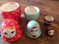 Russian Dolls Measuring Cups