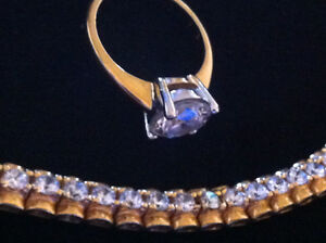 Bracelet and Ring [ Costume jewelry] ,
