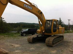 john Deere 200 Excavator for trade