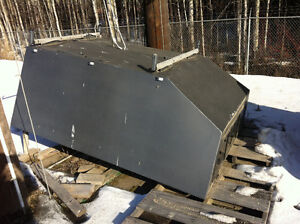 Truck canopy space cap work box