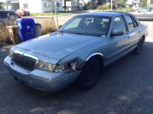 2002 Mercury Grand Marquis GS Sedan