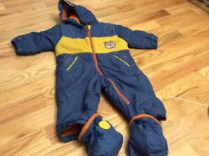 Winter coat size 12-18 mths/spring fall coat snow pants size 2T