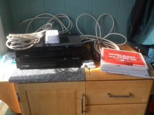 2 Rogers Cable Boxes, cables, remotes and instruction book