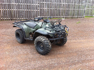 Honda Fourtrax 300 4x4, Trade For 90's civic or accord