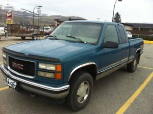 1997 GMC 4x4 Fully Loaded Extcab Shortbox