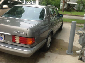 1988 Mercedes-Benz 300 SE Sedan (PRICE DROP FAST SELL) London Ontario image 2
