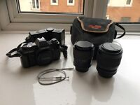 Centon DF-300 SLR Camera and Lenses