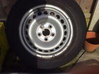 VW Transporter wheel