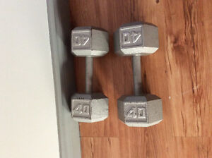 Dumbell 40 lbs