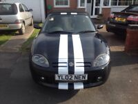 MG TF 1.8 16v twincam 135bhp, ABS