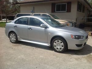2010 Lancer Mitsubishi- Low KM's, E-Certified, Winter Tires incl