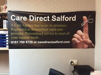 CARE DIRECT SALFORD HAS VACANCIES FOR CARE / SUPPORT WORKERS FULL OR PART TIME POSTS AVAILABLE