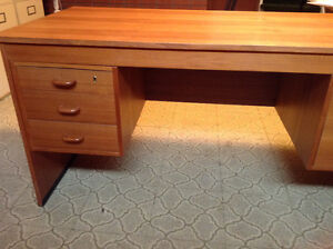 Teak wood desk in excellent condition. New price!