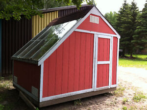 Solar Shed / Greenhouse