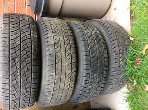 195/70-R14 set of tires on rims