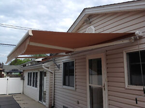 Retractable Awning Mechanism