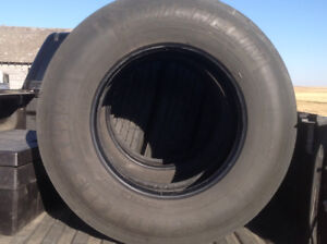 6 Michelin 275/80 R22.5 steering tires excellent cond. $300.00/e