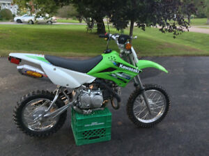 KLX110L _ BOUGHT NEW IN 2013_ GREAT SHAPE!