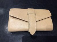 Aspinals Of London Jewellery PURSE -Wallet Beige Leather