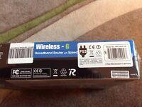 Speed booster wireless broadband router