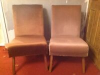 Two bedroom chairs- open to offers- can be sold separately