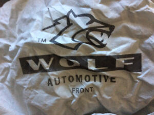 Wolf car cover