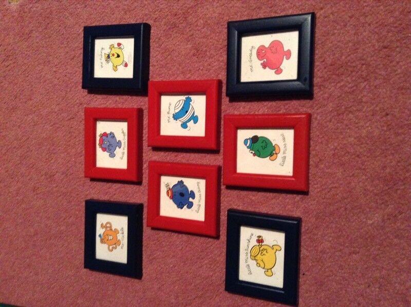 Mr Men Mini Framed Photos