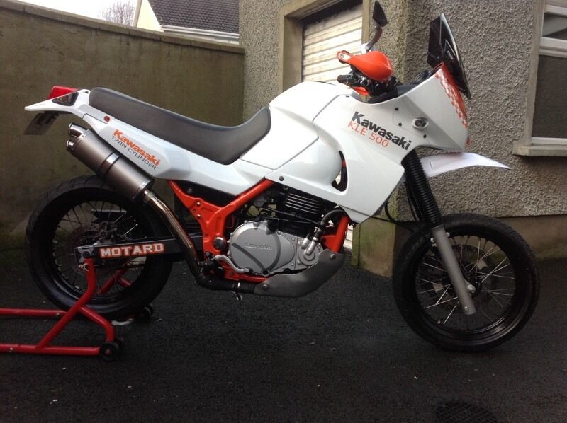 2005 kawasaki kle 500 supermoto 39 d one of kle in limavady county londonderry gumtree. Black Bedroom Furniture Sets. Home Design Ideas