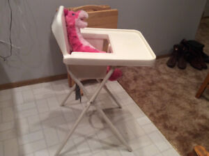 Highchair for the holiday Season!