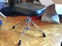 Drum throne / banc / seat YAMAHA de luxe (drum / batterie)