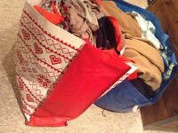 Job lot of women's clothes and men's! Ideal for car boot or eBay