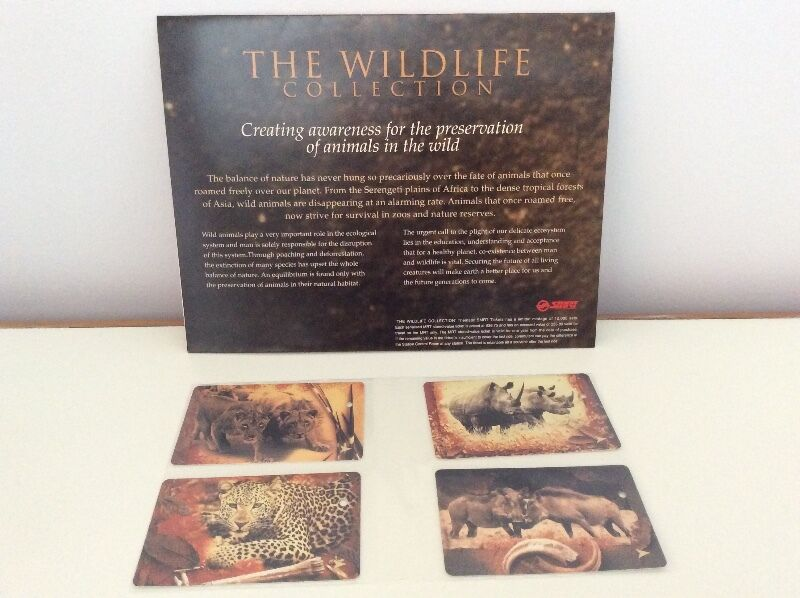 The Wildlife Collection SMRT TransitLink cards