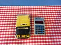Vintage Texet 880 Executive Calculator