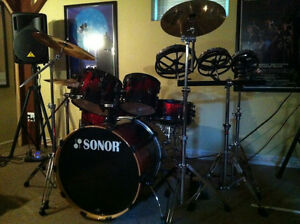 Sonor Drum Kit For Sale Cornwall Ontario image 1