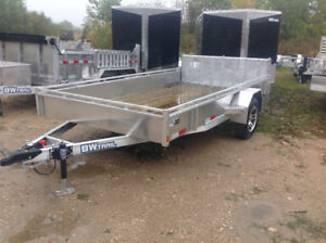 All aluminum trailers.  Built right here in manitoba.