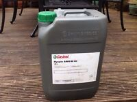 20 litre drums of Castrol Hydraulic Oil