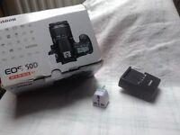 Canon 60D with or without extras