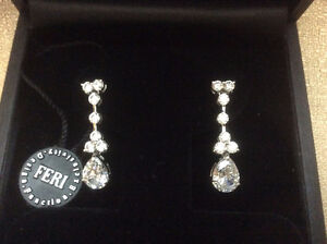 FERI Design:  .925 Stirling Silver Earrings