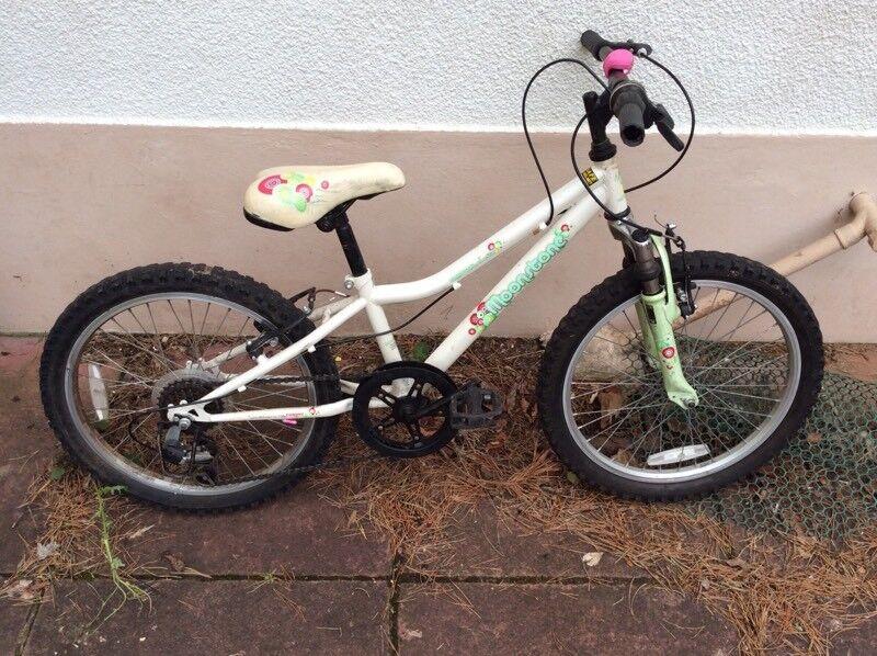 Girls bike (age 6-8)