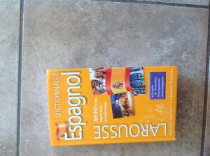Dictionnaire Larousse Espagnol