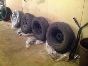 tires and rims 16 inch and 1 17 inch tire Strathcona County Edmonton Area image 2